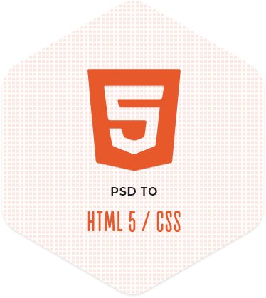 PSD to HTML/HTML5 Conversion Service