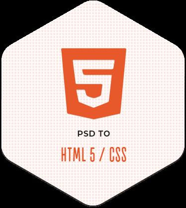 PSD to HTML/HTML5 Conversion Service