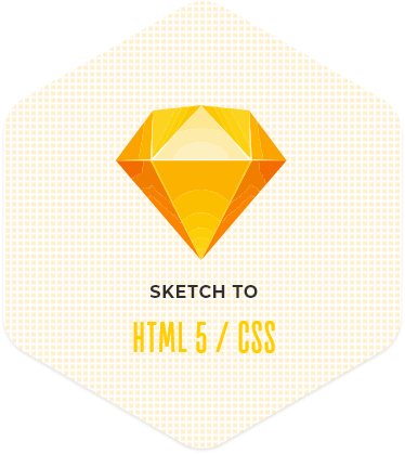 Convert Sketch to HTML5