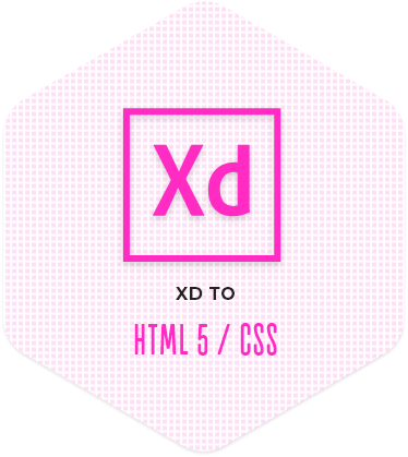 XD to HTML5/CSS Conversion