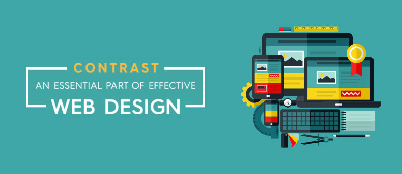 Contrast – An essential part of effective web design