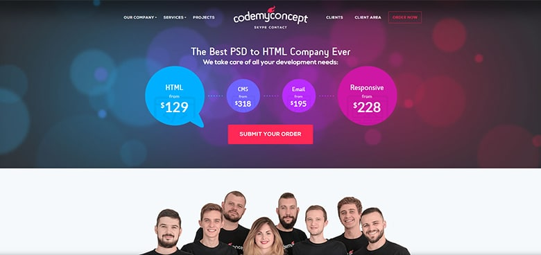 PSD to WordPress Development