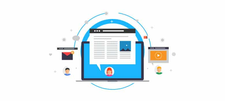 Develop website content