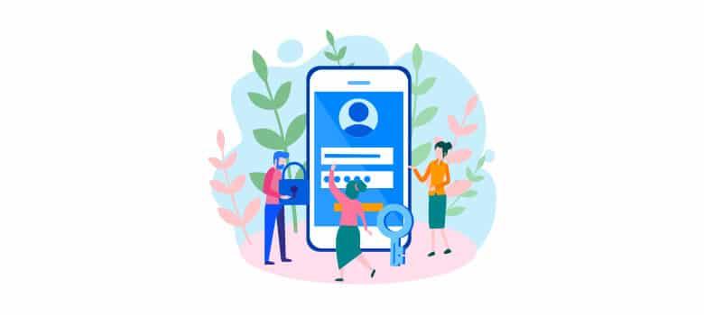 Social media login option